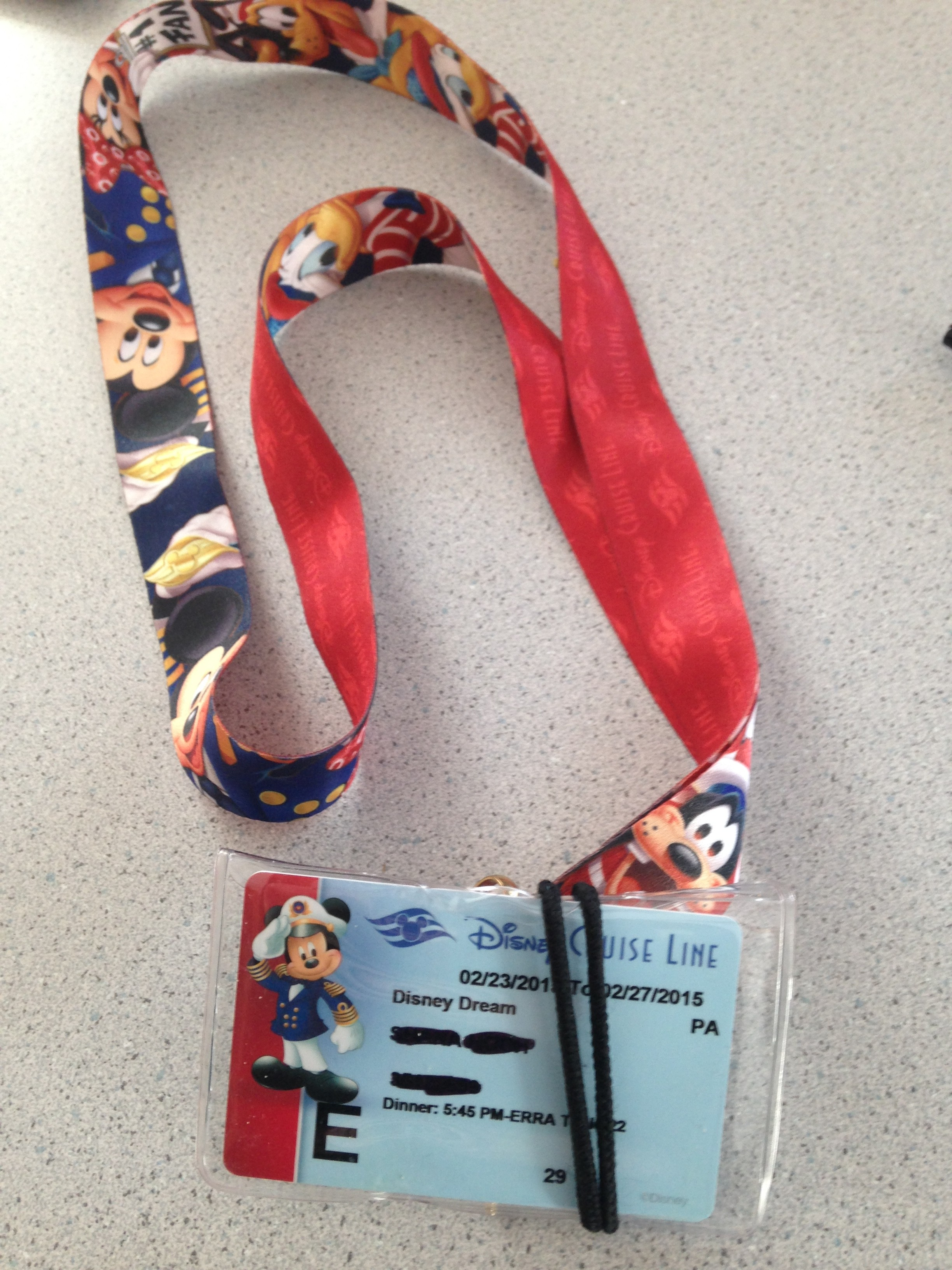 Disney Cruise - a packing checklist
